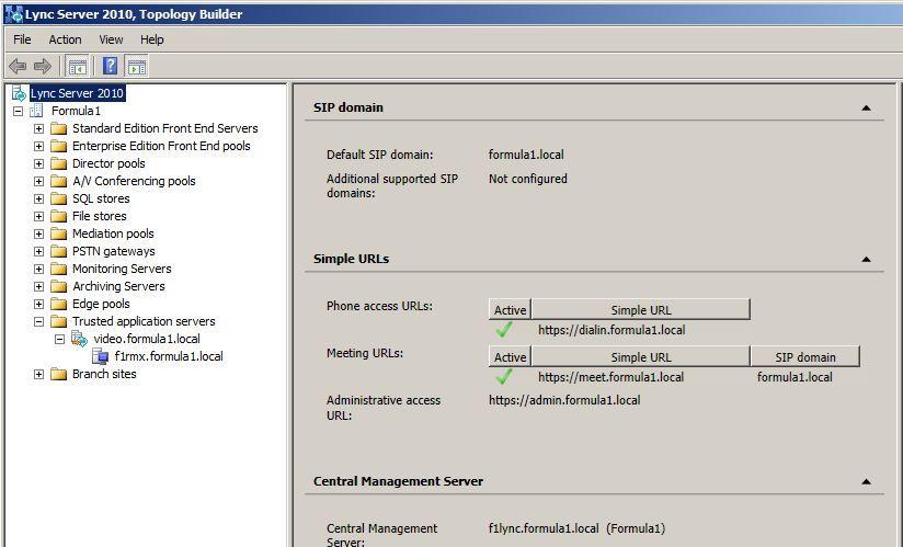 Integrating the Polycom RMX with Microsoft Lync 2010 Server – Graham ...