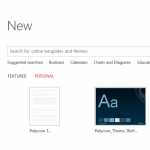 PowerPoint File New