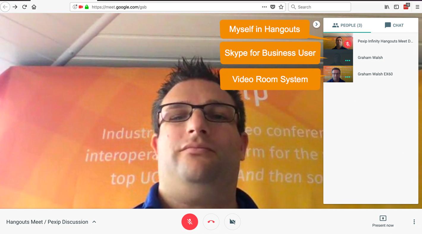 Setting up Hangouts Meet integration with Pexip Infinity – Pexip