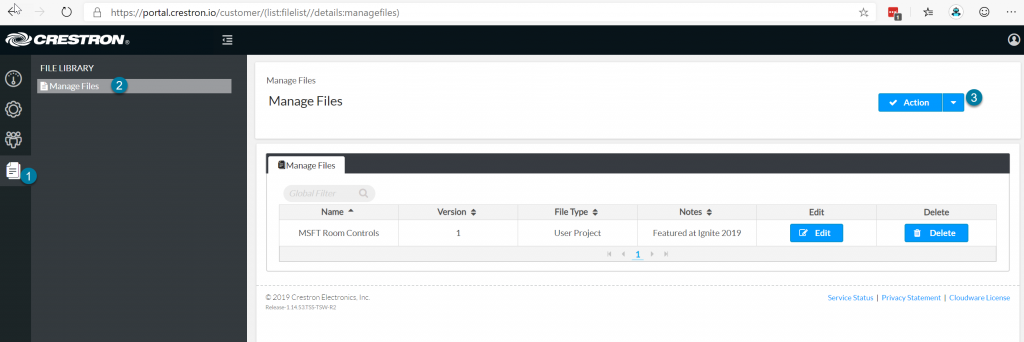 Manage Files in XiO