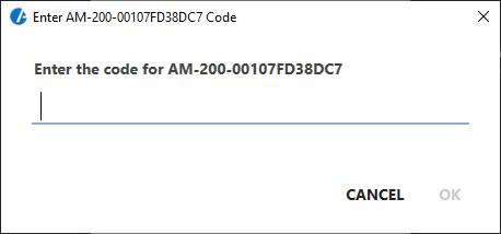Passcode to present