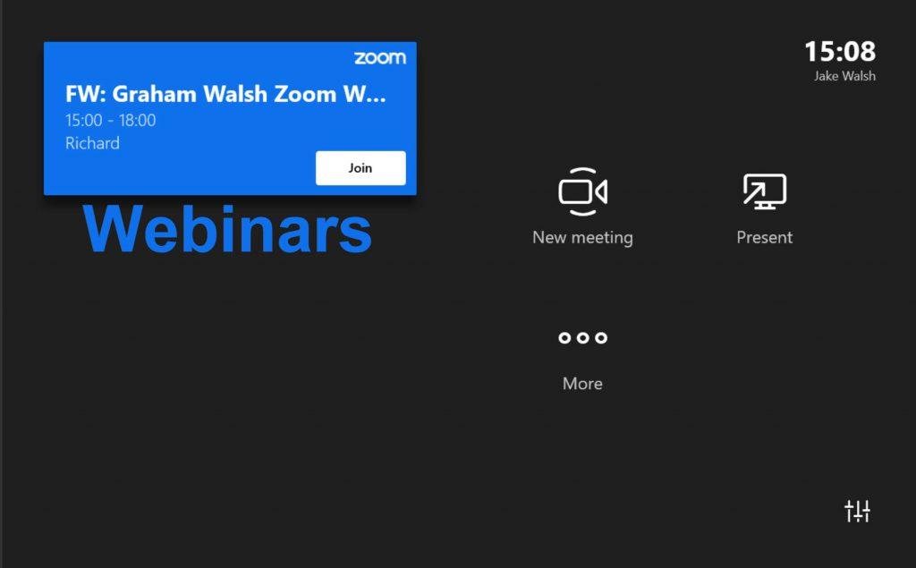 Zoom Webinars